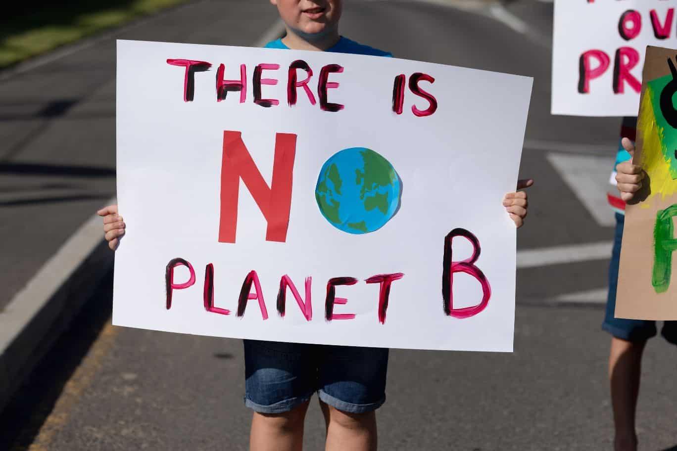 Schüler*innen als AKtivisten für die Umwelt und für Nachhaltigkeit - Titelbild zum Poetry Slam Text von Zwergriese